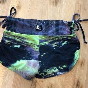 lala land comfywear Shorts - Soft Yoga Booty Shorts